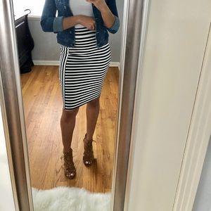 Dresses & Skirts - Striped Pencil Skirt